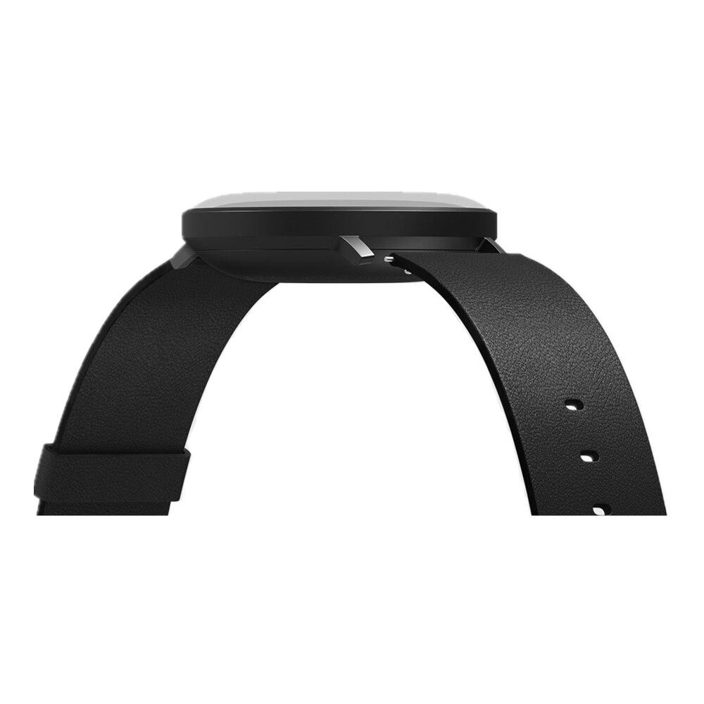 XIAOMI Mi Mijia QUARTZ montre intelligente vie étanche avec Double cadrans alarme Sport capteur podomètre temps bracelet en cuir Mi Home APP - 5