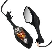 مرآة دراجة نارية هوندا CBR 1000RR 2008 2013/VFR 1200 2010 2012 LED بدوره ضوء المحرك إشارات مرآة الرؤية الخلفية CBR1000RR