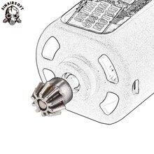 SINAIRSOFT Motor Ritzel Getriebe Typ D Loch Und O Loch Für Airsoft AEG Motor M4 M16 AK MP5 G3 G36 paintball Schießen Ziel