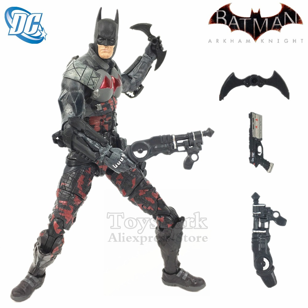 NEW Batman Arkham Knight 7 Action Figure Batarang DC Collectibles Asylum RED HOOD Body Bat Man Doll Toys Model Ko's NECA Loose худи print bar red hood arkham knight edition