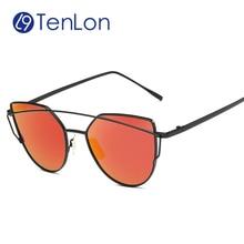 YYTZM Glasses Hot Fashion Women Retro V Sunglasses UV400 Classic Selfie 2016 New Oculos De sol love punch neverleftla GM