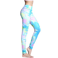 Sexy Push Up Women Sportwear Leggings Fitness Yoga Pants Tight Stretchy Sports Training Leggings Gym Clothes