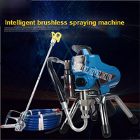 New 395 Electric High pressure Airless Sprayer Professional Spray Painting Tool Latex Paint Spraying Machine 220V 1.8KW 2.2L/MIN