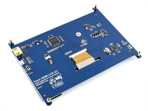 """Image 5 - Waveshare 7 """"hdmi 液晶 (c) 容量性タッチスクリーン ips サポートラズベリーパイゼロ/ゼロ w/ゼロ wh/2B/3B/3B + コンピュータモニター"""
