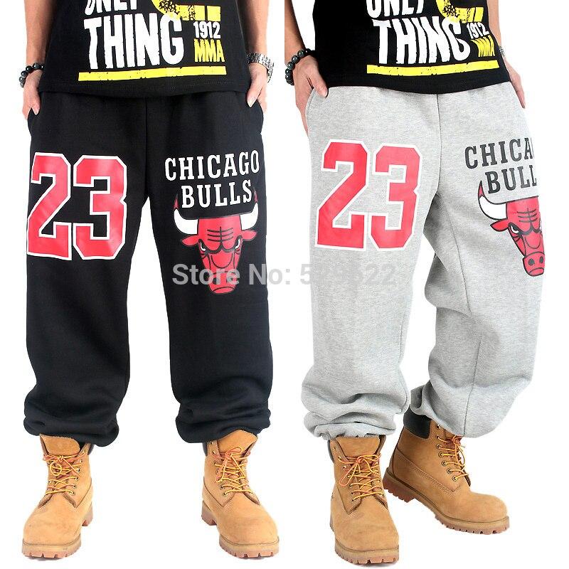 0df748b8ada Gangsta Bulls Sweatpants Sports Pants Men's 2014 fashion casual west hip  hop baggy skateboard male trousers trousers hiphop