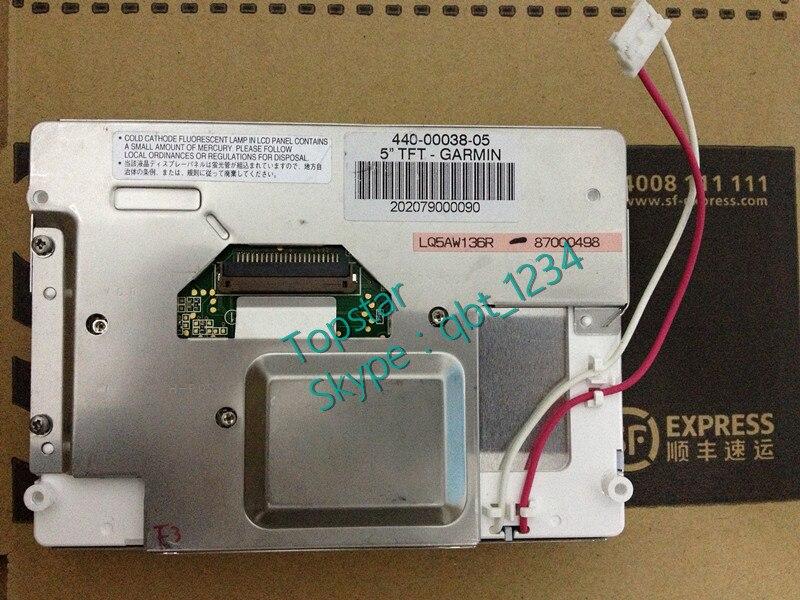 Original 5.0 Polegada LQ5AW136 LQ5AW136R LQ5AW136T LCD Painel Da Tela De Exibição Para O Carro Pela SHARP