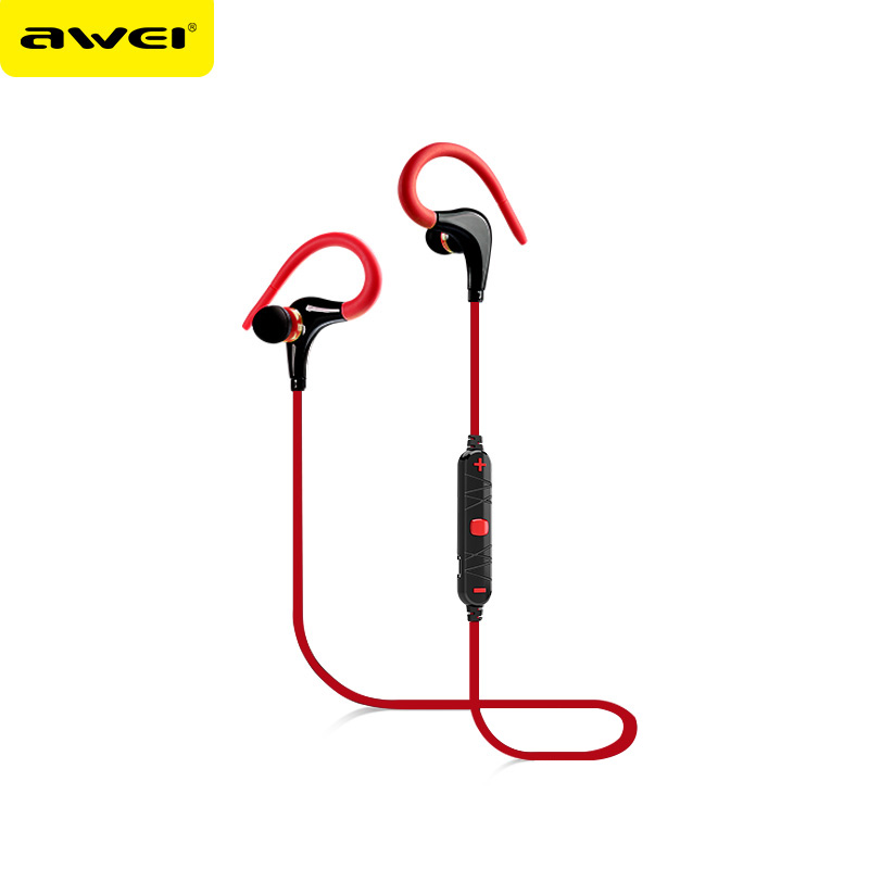 Awei A890BL Sports Running Blutooth Auriculares Earphone Noise Cancelling Sweatproof Headset Wireless Headphone Earpiece Earbud