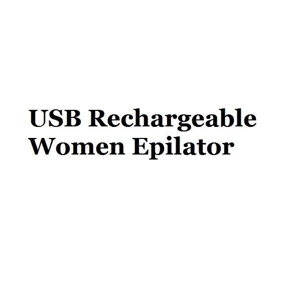 Portable USB Rechargable Electric Painless Hair Removal Epilator For Body Depilator Lipstick Neck Leg Shaving Hair Remover Tool