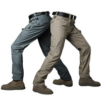 Summer Militar Rip Stop Waterproof Tactical Pants Men Camouflage Military Cargo Pants Teflon Breathable Army Combat