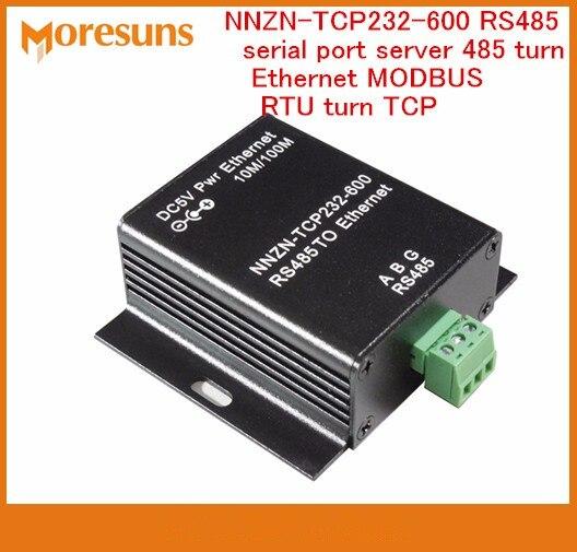 Livraison gratuite rapide NNZN-TCP232-600 RS485 port série serveur 485 tourner Ethernet MODBUS RTU tourner TCP