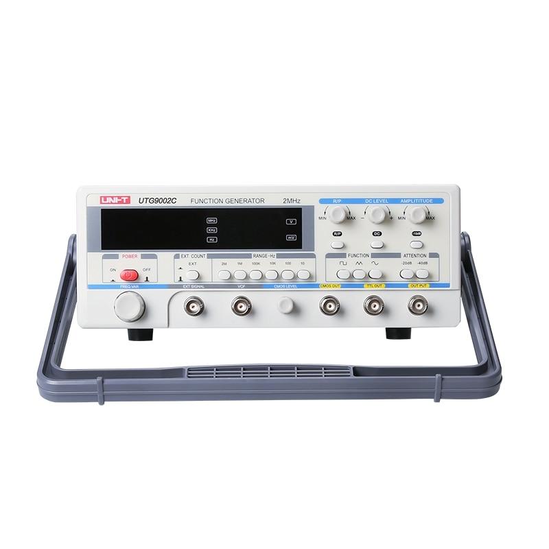 UNI T UTG9002C Signal Sources Digital Signal Generator Function Generator 0.2Hz~2MHz Frequency Meter цена