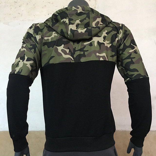 ALPHA Patchwork Camouflage Hoodie