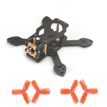 Toad 90 90mm 3K Pure Carbon Fiber CNC Aluminun Racing FPV Quadcopter Frame for RC Multicopter FPV Drone 1104 Motor 2030 propelle(China)