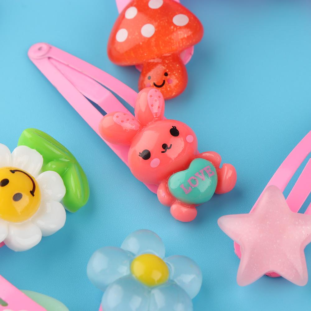 HTB1hayvSpXXXXahXpXXq6xXFXXX2 12-Pieces Mix Colorful Fruit Flower Star Animal Fish Ribbon Heart Candy Hair Accessories For Girls