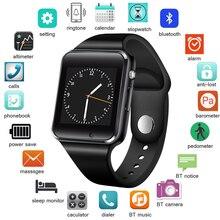Get more info on the LIGE Bluetooth Smart Watch Men SIM TF Push Message Sports Pedometer Digital Smart Watch Support SIM Card Hombre Inteligente +Box
