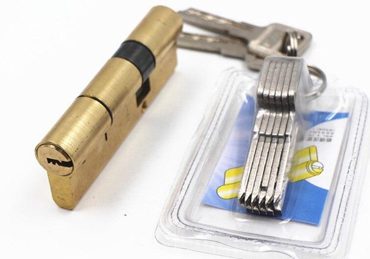 Brass Cylinder for High Security Door Lock the size 110mm= 37.5+72.5 door locks brass cylinder 80 mm 40 40 for high security door lock locks
