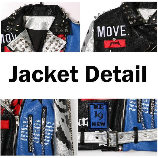 LORDXX Jacket Autumn Women Long Sleeve 2018 Fashion Stud Turn-down Collar Faux Leather crop Jackets ladies Zipper Coat Tops 5