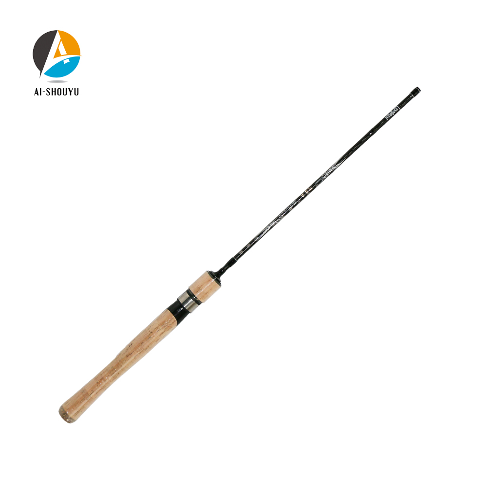 Spinning Rod 1 37m Solid Tip 2 10g Test UL Spinning Rod for Light Jigging Trout Rod Fast Action Carbon Casting Rod SuperLight in Fishing Rods from Sports Entertainment