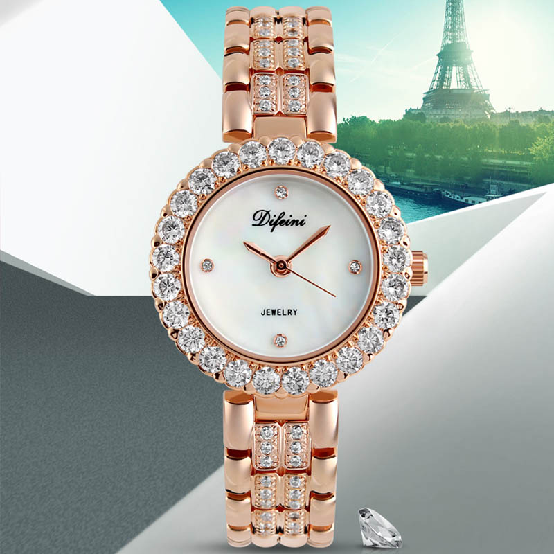 2017 New Luxury Women Watches Business Ladies Watch women Fashion Casual Dress Quartz Watches relogio feminino montre femme xfcs chenxi fashion luxury quartz watch women dress stainless steel strap waterproof business casual ladies watches relogio feminino