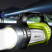 SHENYU 20w Super Bright Outdoor Handheld Portable USB Rechargeable Flashlight Torch Searchlight Multi-function Long Shots Lamp