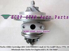 Turbo CHRA Cartridge Core K03 53039880015 53039700015 454159 454159-0001 For AUDI A3 For Volkswagen VW Golf 4 Bora AGR ALH 1.9L