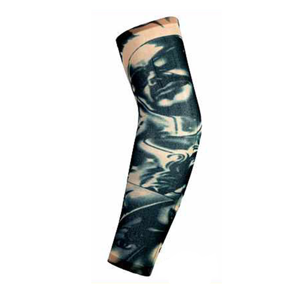 Apparel Accessories Fashion Men Women Arm Sleeves Elastic Nylon Halloween Dance Party Tattoo Sleeve Men's Accessories Fashion Tattoo Arm Leg Sleeves Anti