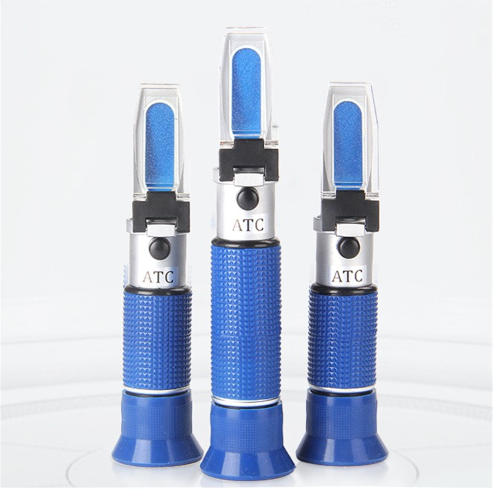 Brix 0-10% milk Fruit sweetness meter Tester Handheld refractometer Automatic temperate compensation soy milk concentration meter sugar sweetness and can measure brix