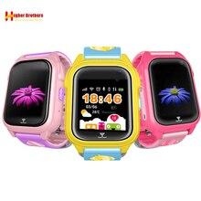 IP67 Waterproof Smart Safe GPS Tracker Locator Kids Baby SOS Call Remote Monitor Camera Anti-lost Smartwatch Watch Wristwatch