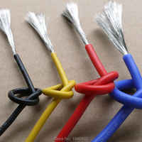 16 AWG Flexible Silicone Wire RC Cable 16AWG 252/0.08TS OD 3.0mm Tinned Copper Wire 1.27mm Square Model airplane Wire