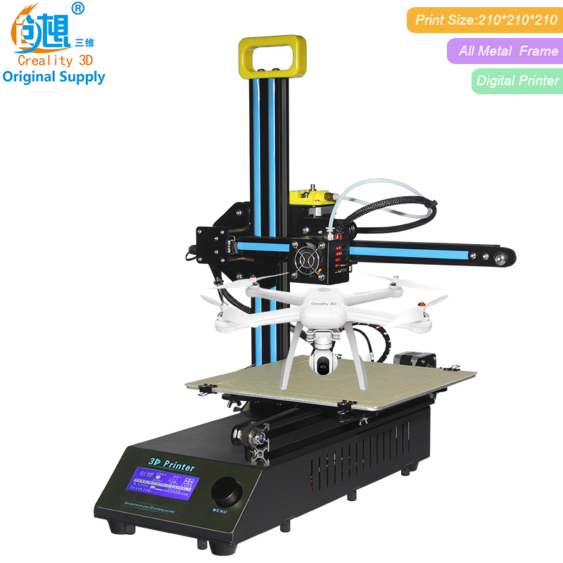 Crazy Big Sale CREALITY 3D FDM Printing CR-8 Metal V-slot Frame 3D Printer kit Filament Support printer 3d laser engraving original anycubic 3d pinter kit kossel pulley heat power big size 3d printing metal printer fast shipping from moscow