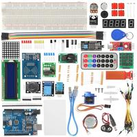 RFID Starter Kit Stepper Motor Beginner Learning Suite with Retail Box Electronics Component Fun Kit for Arduino UNO R3