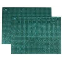 Herbruikbare A2 Snijmat Patchwork Duurzaam Side A2 PVC Carving Snijden Matten Snijplank Gereedschap voor Patchwork 3mm dikte