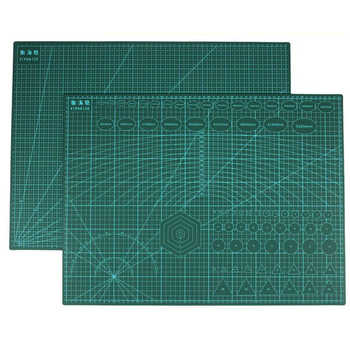 Reusable A2 Cutting Mat Patchwork Durable Side A2 PVC Carving Cutting Mats Cutting Board Tools for Patchwork 3mm thickness - DISCOUNT ITEM  30 OFF Education & Office Supplies