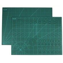 Tapete de corte reutilizable A2, lado duradero A2, tallado y corte de PVC, tabla de cortar, herramientas para Patchwork, 3mm de grosor