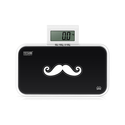 070482 Cost Effective Quality Mustache Patterm Electronic Scale Household Mini Cute Health Small And