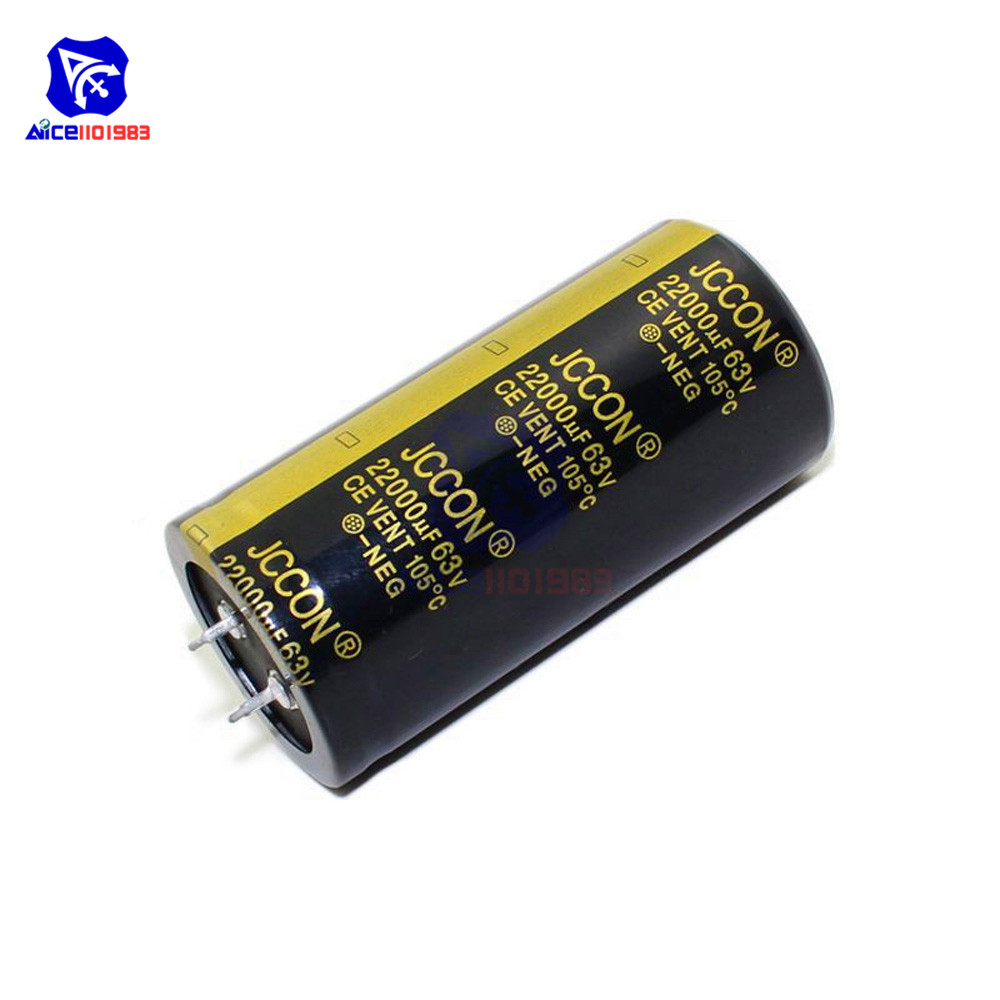 NEW 22000 uF by 63V ELECTROLYTIC CAPACITOR 60x35mm