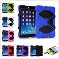Built-inTouch Screen Protector Rugged Heavy Duty Case for iPad 2 3 4 Shockproof Droproof Cover Case with Kickstand
