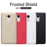 NILLKIN For Xiaomi Redmi 4 Case Cover Frosted Hard Plastic Back Cover Screen Protector Redmi 4