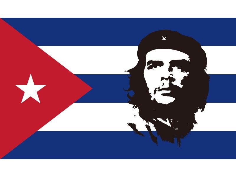Flagge Kuba Che Guevara 90 x 150 cm Flaggen Fahne