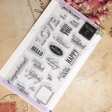 NCraft Clear Stamps N2143 Scrapbook Paper Craft Clear stamp scrapbooking