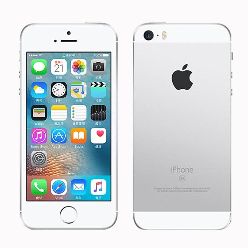 Original Débloqué Apple iphone SE Téléphone Portable 4G LTE 4.0» 2 GO RAM 16/64 GO ROM A9 Dual-core Touch ID Téléphone Portable Utilisé iphone se - 3