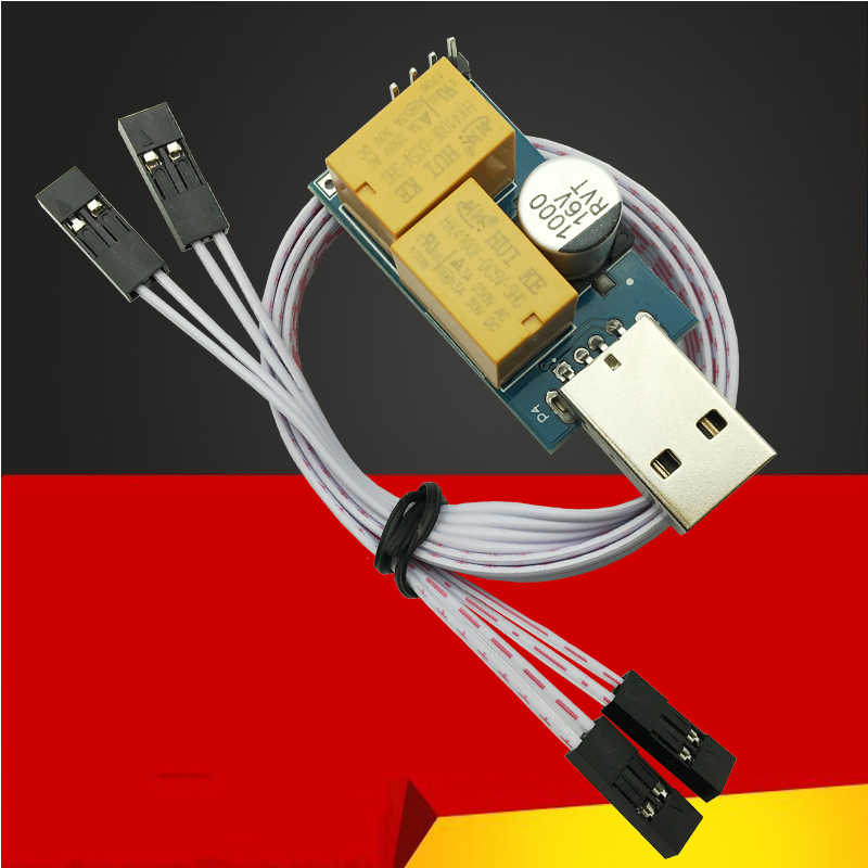 USB Watchdog Timer Card Module Automatic Restart IP Electronic Watch Dog 2 Timer Reboot Lan For Mining Gaming Computer PC