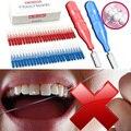 Cabeça dente Fio Dental Higiene Oral Dental Interdental Escova Palito Palito de Plástico Escova De Limpeza Dos Dentes