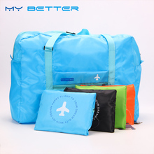 Fashion WaterProof Travel Bag Large Capacity Bag Women Nylon Folding Bag Unisex Luggage Travel Handbags big fashion waterproof travel bag large capacity bag women nylon folding bag unisex luggage travel handbags