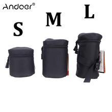 Andoer Профессиональный чехол для объектива DSLR камеры сумка для Canon Nikon sony сумка для объектива камеры защитный чехол