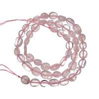 Размер по выбору 5-10 мм нерегулярный терминал рынок натуральный нерегулярный стразы из розового кварца FIT DIY Изготовление аксессуаров 16 дюйм...