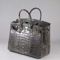 35 см из натуральной кожи Для женщин сумка \ сумки моды классический образец крокодил женская сумка дизайнер большой мешок ~ 17B30