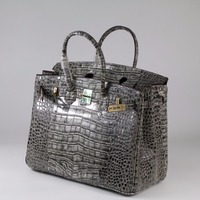 35cm Genuine Leather Women Bag\Handbag Fashion Classic Crocodile Pattern ladies' Tote Designer Big Bag~17B30