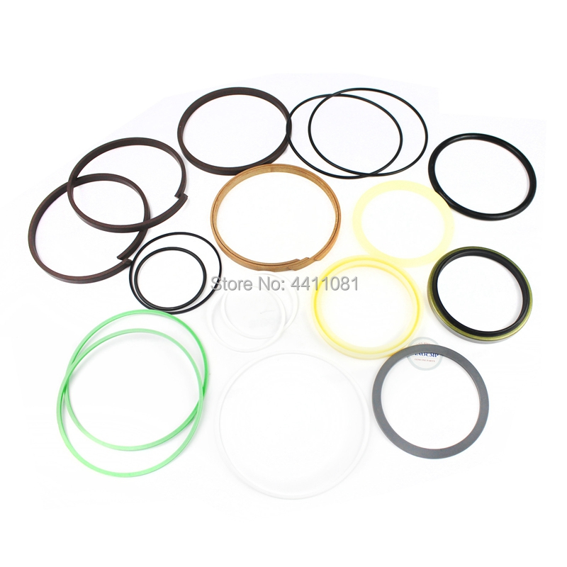 For Hyundai R130LC-3 Bucket Cylinder Repair Seal Kit Excavator Gasket, 3 month warranty fits komatsu pc150 3 bucket cylinder repair seal kit excavator service gasket 3 month warranty