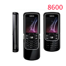Original Nokia 8600 Luna Mobile Phone Unlocked 2G GSM Cell Phone Russian keyboard One year warranty